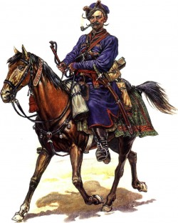 козак на коні