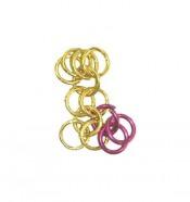 Собираем два замкнутых кольца на открытом кольце - то есть собираем из крайних колец из рядков 4 и 2