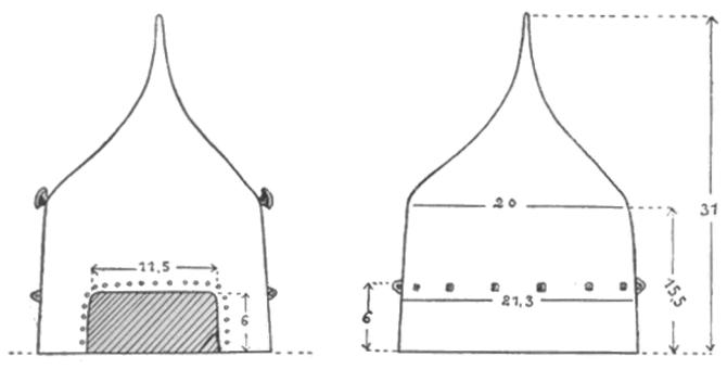 Бацинет Торунь размеры
