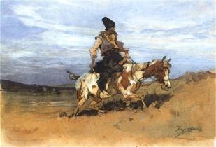 Казак на коне1