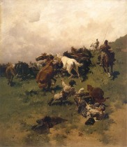 Ловля коня на аркан