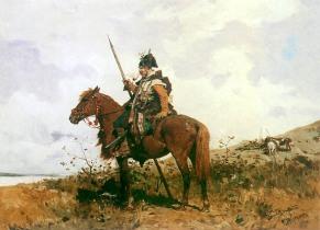 Казак на коне3