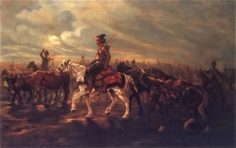 Татары в походе
