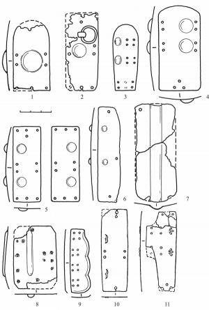 Доспешные пластинки с тиснением в контексте древнерусского защитного вооружения X-XIII вв