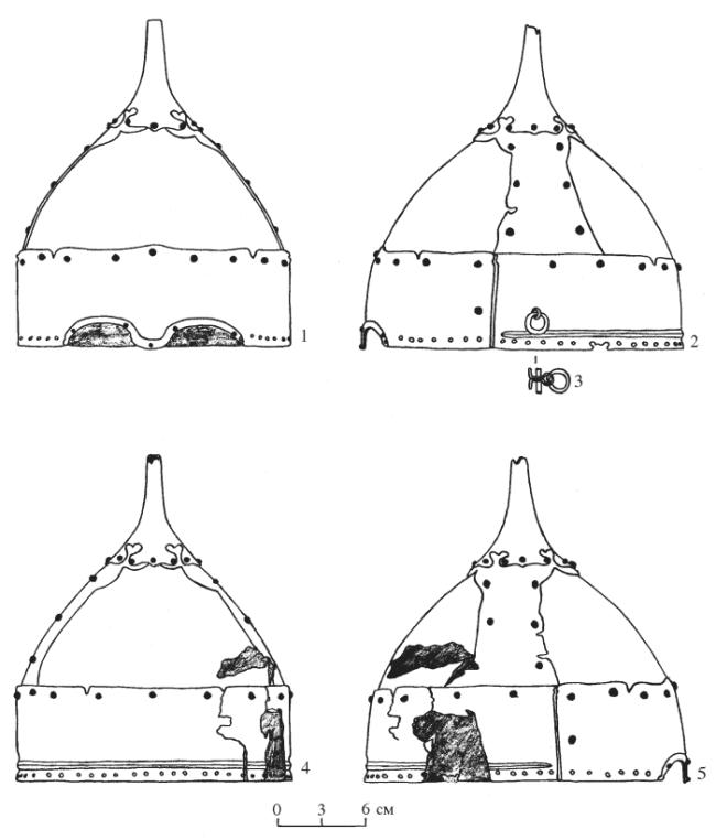 монгольский шлем Шадрино