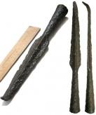 Наконечники копий и втоки из раскопок памятников Верхнего Посурья и Примокшанья XI-XIII веков