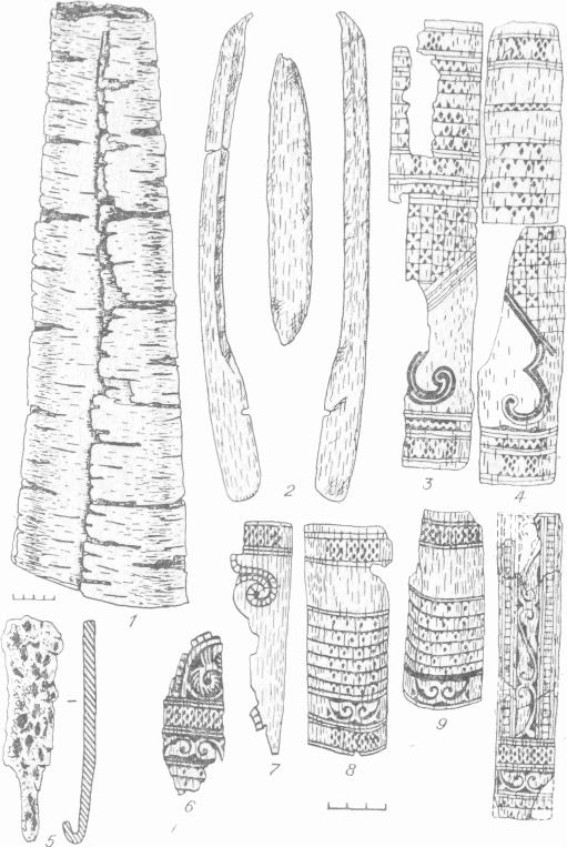 Костяные обкладки луков