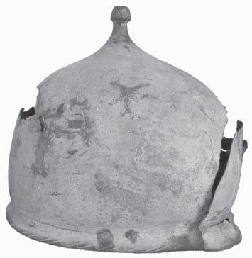 шлем Монтефортино в Белгород-Днестровском музее