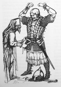 Обряд воинского посвящения в княжескую дружину на Руси