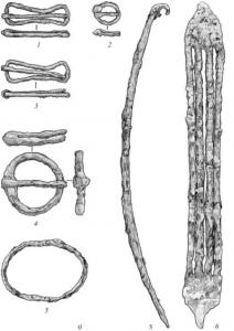 Железные пряжки