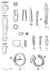 Пильнинский II могильник. Погребальный  инвентарь погребения 1