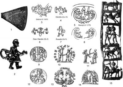 Скандинавские мифоэпические сюжеты и их параллели