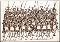 Жандармы Бургундия, конец 15 века