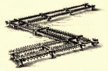 Инженерные заграждения, применявшиеся московскими войсками при осаде Смоленска (1632-33 гг.)