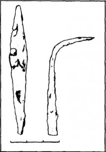 Заготовка(?) ланцетовидного наконечника
