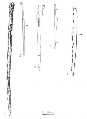 Длинные универсальные ножи