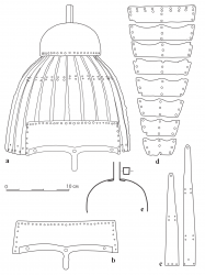 Прорисовка конструктивных элементов шлема