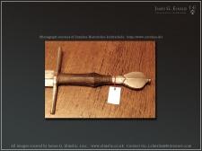 Немецкий полутораручный меч XV век
