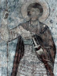 Св. Георгий в традиционной ламеллярной кирасе в Тимотесубани