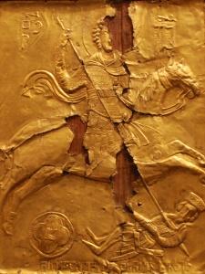 св. Георгий из Накипари в «перевернутом» ламелляре с двойными заклепками