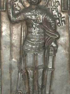 св. Пантелеймон на выносном кресте из Пари