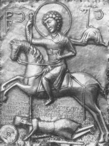 св. Георгий в ламелляре без заклепок из Ипари