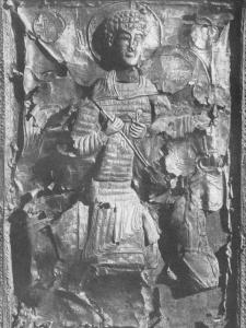 св. Георгий из Джахундери в ламелляре с невидимыми ремнями