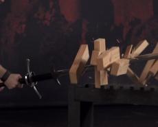 Рубка двуручным мечом