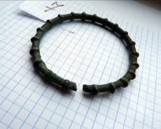 Клад бронзовых браслетов VIII-VI до н.э.