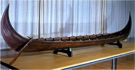 Модель Квальзундского корабля (Бергенский мореходный музей, Норвегия).