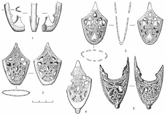 Литые наконечники ножен мечей (по материалам Троицкого раскопа Новгорода Великого)