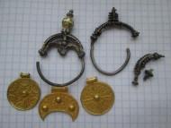 комплекс золотых украшений Киевской Руси