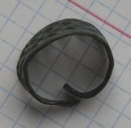 ажурное бронзовое кольцо Киевской Руси