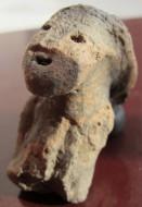 Языческий глиняный идол