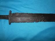 Консервация и реставрация меча