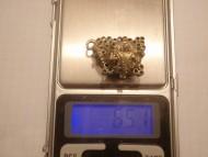 Золотой колт, вес 6,51 грамм