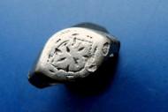 Серебрянный перстень 14 века