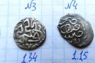 Монеты серебряные ЗО и ВКЛ