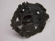Древняя бронзовая нашивная бляшка