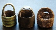 Подвески-ароматницы в форме ведерца. Черняховская культура