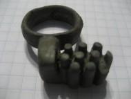 Ключ бронзовый, поздняя Римская империя