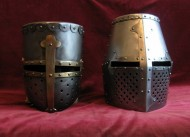 Горшкообразные шлемы, новодел