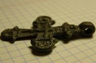Двусторонний крест-распятие