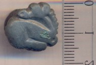 Скифский бронзовый зооморфный ременной распределитель