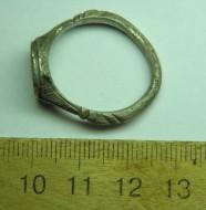 """Серебренный перстень 17век .""""Осория"""""""