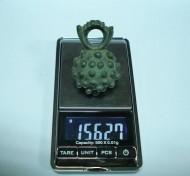 Кистень бронзовый - вес