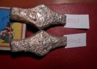 Гривны серебряные маловесные