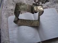 Браслетоподобный серебряный слиток