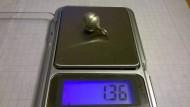 Серебряная бусина (Киевская Русь) вес