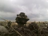 Находка бронзовой булава Киевской Руси